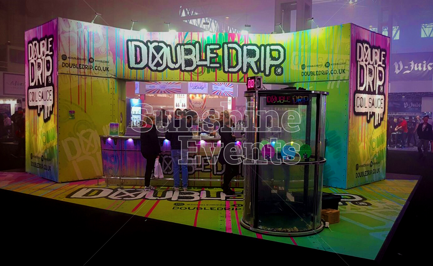 Expo Exhibition Stands Uk : Exhibition event for vapouriz