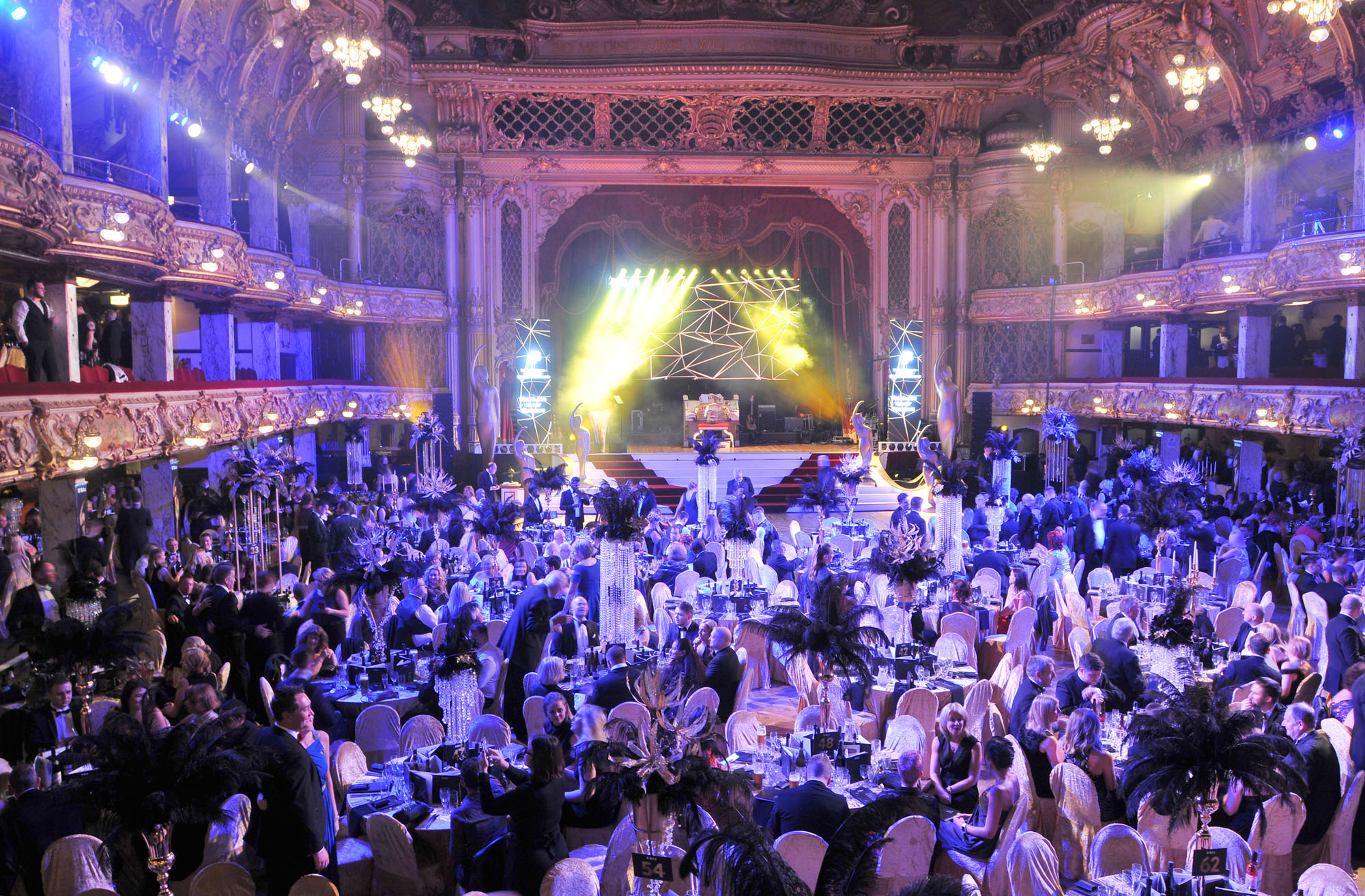Landscape image showing the BIBAs 2018