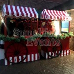 Festive Traditional Wooden Carts Hire