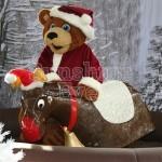 Santa Bear Walkabout Character Hire