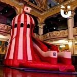 Helter Skelter Inflatable Slide Hire