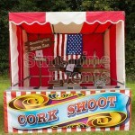Saloon Cork Shoot Stall Hire
