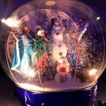 Christmas Giant Snow Globe Hire