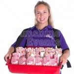 Usherette Trays - Red
