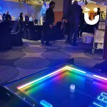 The Atari Pong Table looks amazing at your evening event.
