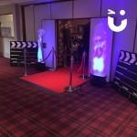 Hollywood Theming Hire transform the entrance of an event giving it a glamorous feeling