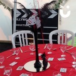 Hollywood Theming Hire brings to life an evening dinner for a client whilst creating a bespoke atmosphere
