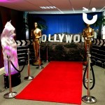 The Hollywood Theming Hire bring the glitz and glamour to an awards evening