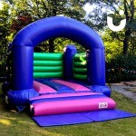 Th Bouncy Castle Hire Adult fits perfectly into gardens and playing fields making it the perfect addition to any event
