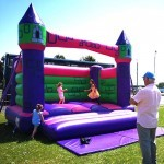 Our bouncy castles are suitable for all ages