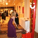 Our test of strength during a Christmas corporate party