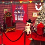 Meet and Greet Grotto interior