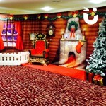Meet and Greet Grotto with fireplace