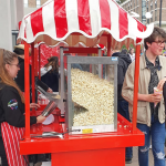 Popcorn Fun Foods Hire for a student event