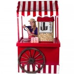 A Fun Expert pouring the Popcorn Fun Foods Hire