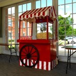 Our Popcorn Fun Foods Hire at an indoor private event