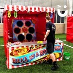 Our stalls come with a fun expert to run your game.
