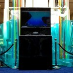 The Virtual Reality Experience Stand on show as part of a promotional event at a shopping centre