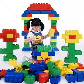 Big Rubber Lego Hire