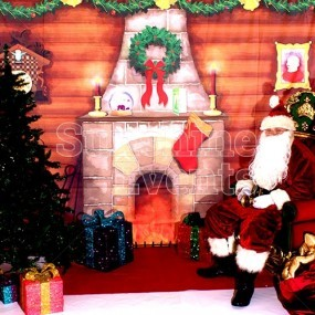 Santa's Christmas Grotto Meet and Greet Hire
