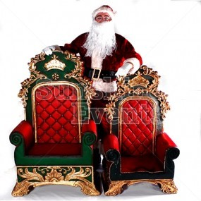 Santa's Elaborate Throne Hire