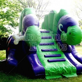 Children's Dino Inflatable Slide Hire