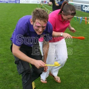 Egg and Spoon Race for Team Building