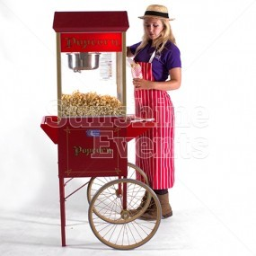 Popcorn Trolley Hire