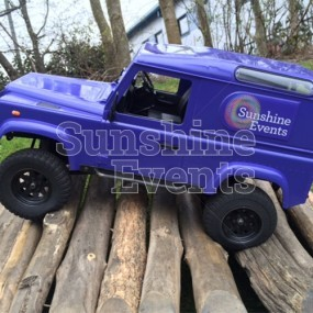 Remote Control 4x4 (All Terrain) Vehicle Challenge Hire
