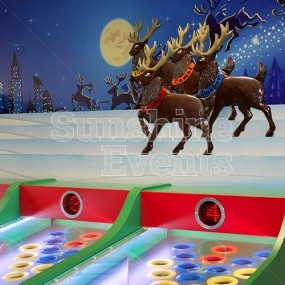 Roll A Ball Reindeer Racing Hire