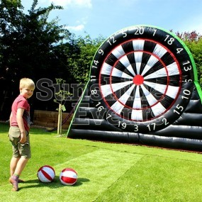 Inflatable Football Darts Hire