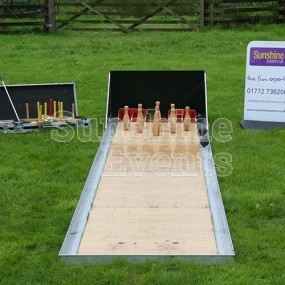 Skittle Games Alley Hire