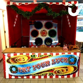 Christmas Snow Ball in a Bucket Stall Hire