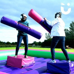 Gladiator Joust Inflatable Hire