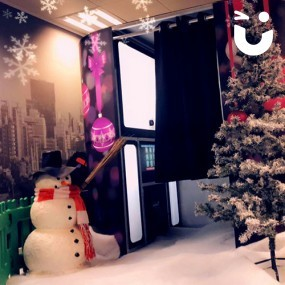 Christmas Themed Photo Booth Hire