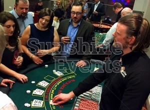 GALLERY - Casino Blackjack and Roulette Tables