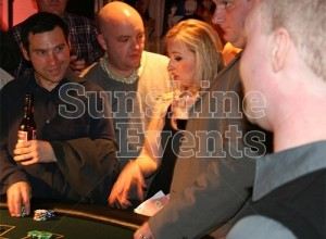 CASE STUDY - Casino Themed Birthday in Winsford