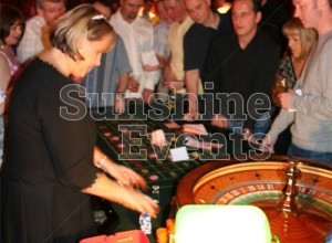 GALLERY - Blackjack and Roulette Casino Table Hire