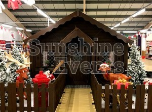 CASE STUDY - Wooden Grotto for major Supermarket