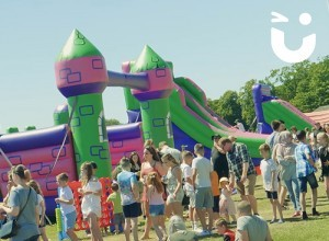 BLOG - Our A-Z of Events highlights I with Inflatables