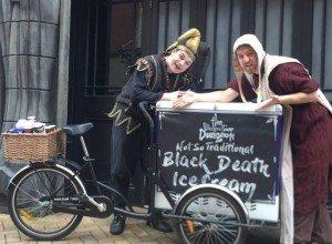 BLOG - Sunshine hits Blackpool with Spooky Ice Cream