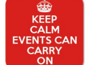 Events can continue...