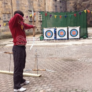 Archery Hire with Three Targets