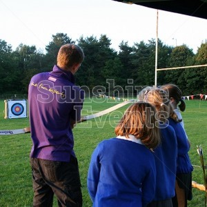 Archery Hire for Primary School After School Club Entertainment