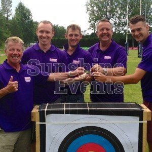 Archery Hire Leader Trained Fun Experts