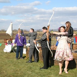 Archery Hire for Wedding Entertainment