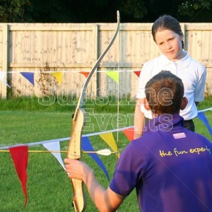 Archery Hire for School Children