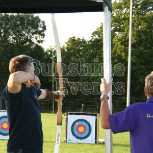 Archery Hire on Target