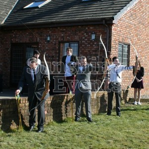 Archery Hire Wedding Entertainment for the Guests