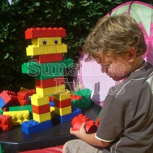Giant Rubber Lego Games Hire